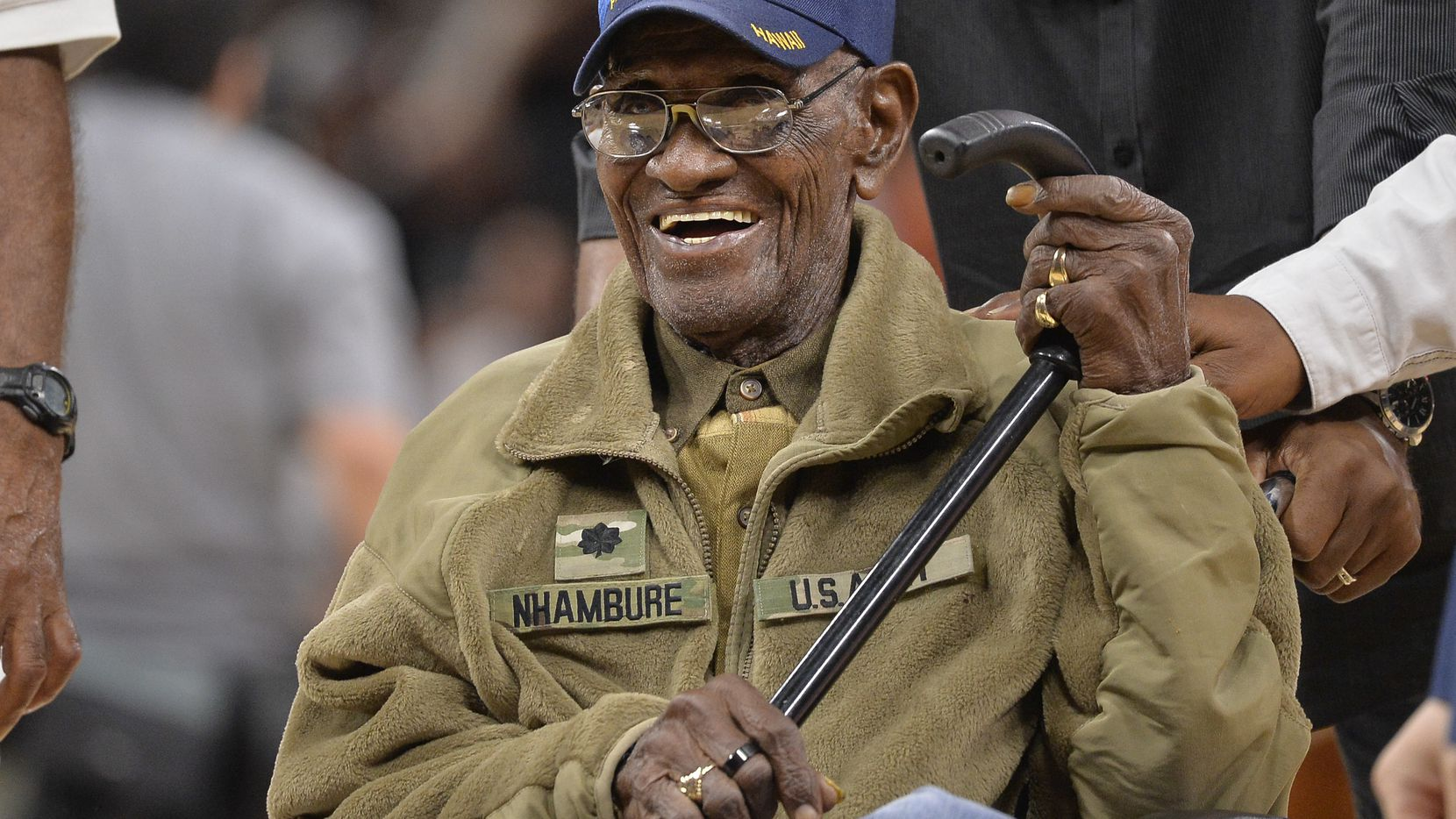 At age 111, America's oldest veteran is still smoking cigars