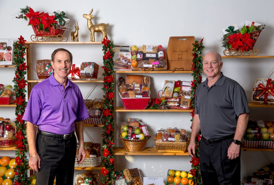 (From left) Chuck and Bobby Goodman are co-owners of Goodies from Goodman.