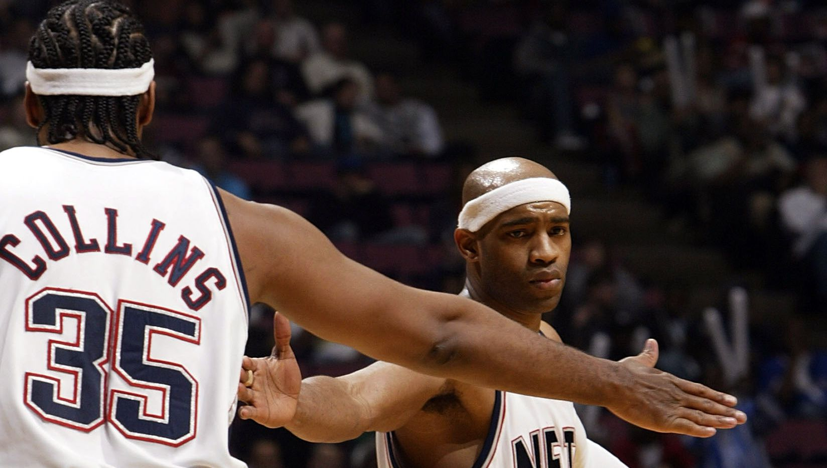 best sneakers ae9b9 61ce2 Vince Carter happy former teammate Jason Collins is back in ...