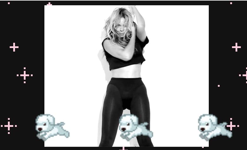 What's better than Beyoncé? Beyoncé with puppies.