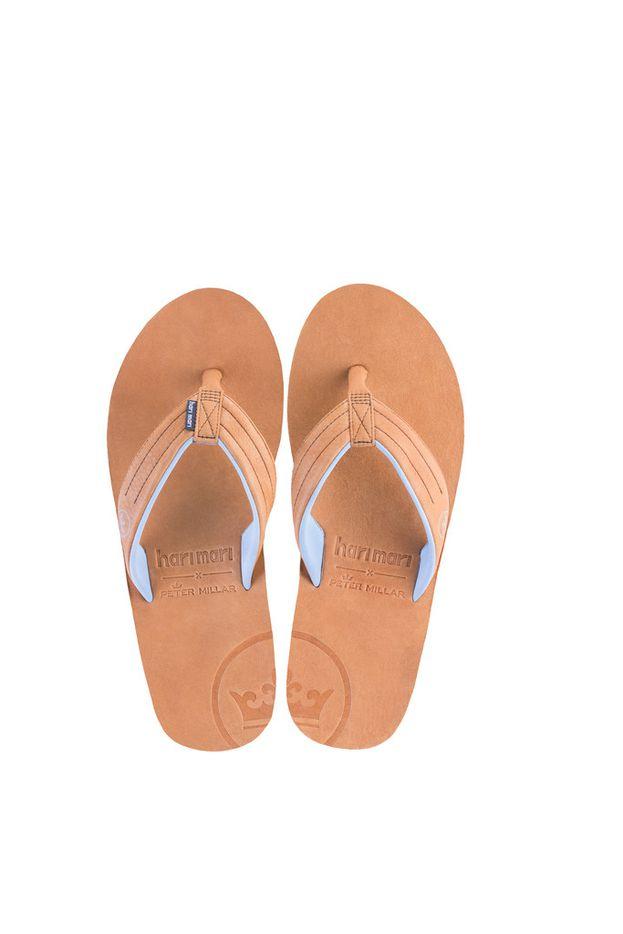 Dallas-based flip-flop maker teamed up with menswear designer Peter Millar for a limited-edition sandal.