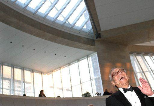 I.M. Pei at the Dallas Symphony Orchestra AT&T Gala at the Meyerson Symphony Center.