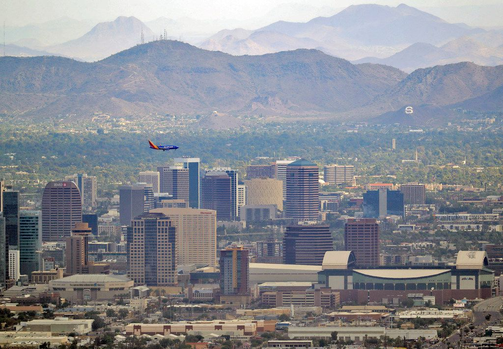 Set in the Sonoran desert, Phoenix is known for its searing summer temperatures.