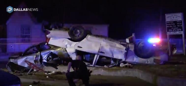 Una conductora presuntamente ebria ocasionó un accidente en el que seis personas resultaron heridas./ DMN