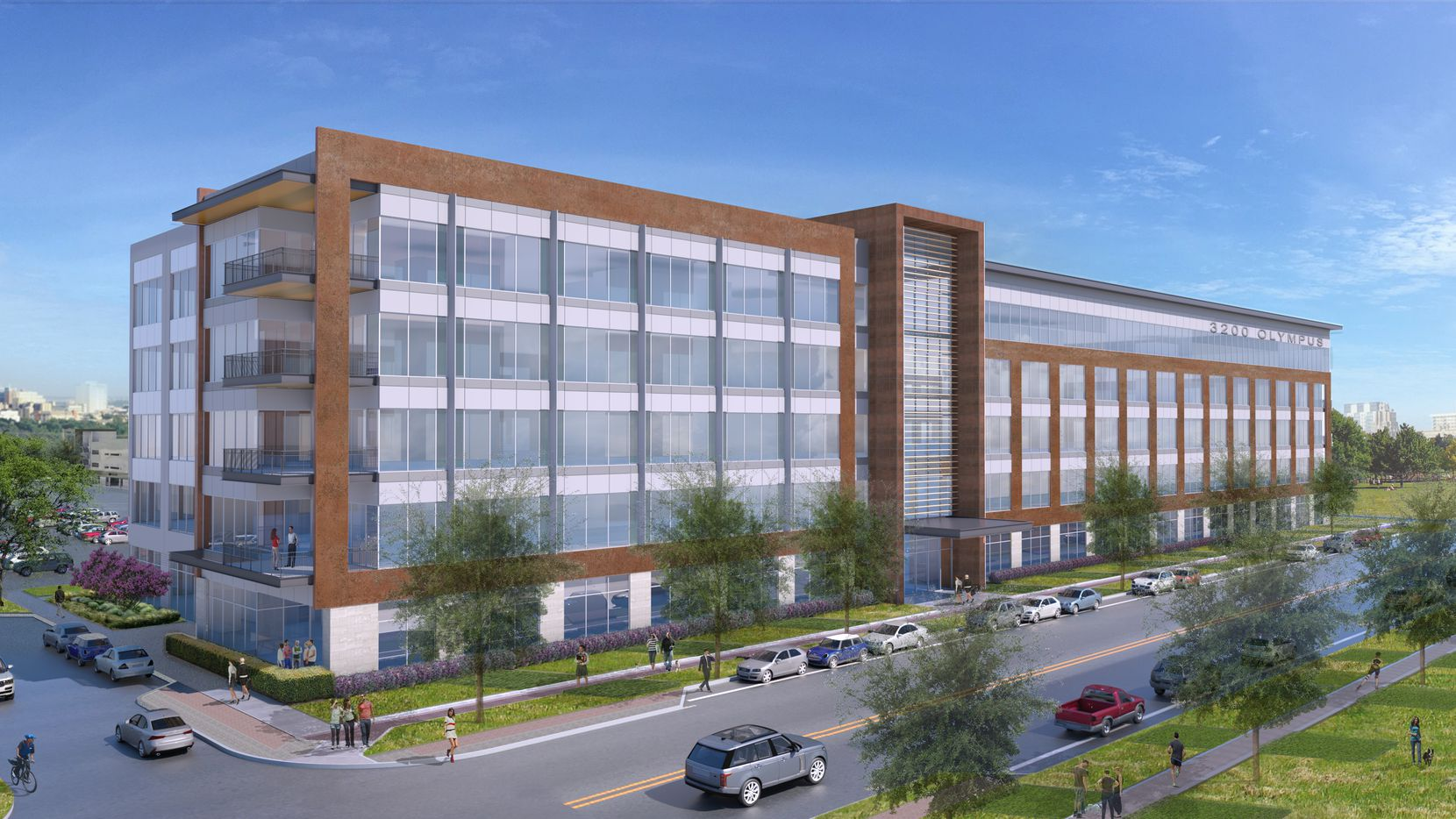 The 3200 Olympus Boulevard office project is part of the 1,000-acre Cypress Waters development.