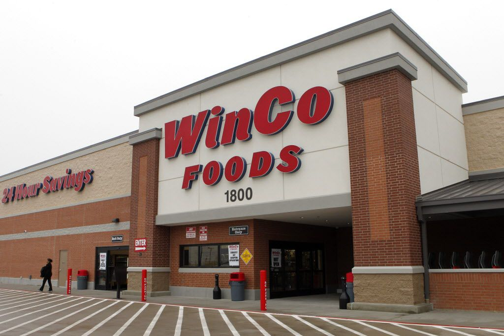 Idaho-based WinCo Foods is building an 830,000-square-foot distribution center in Denton. This is the chain's McKinney location. (2014 File Photo)