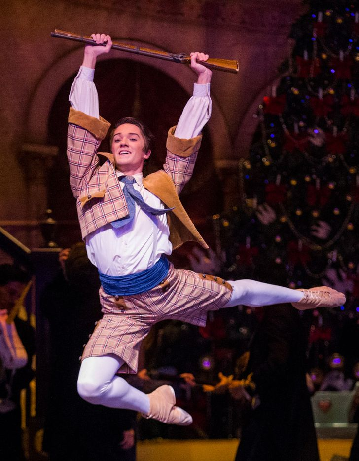 Dustin Geradine stars as Fritz  in Texas Ballet Theater's production of The Nutcracker.