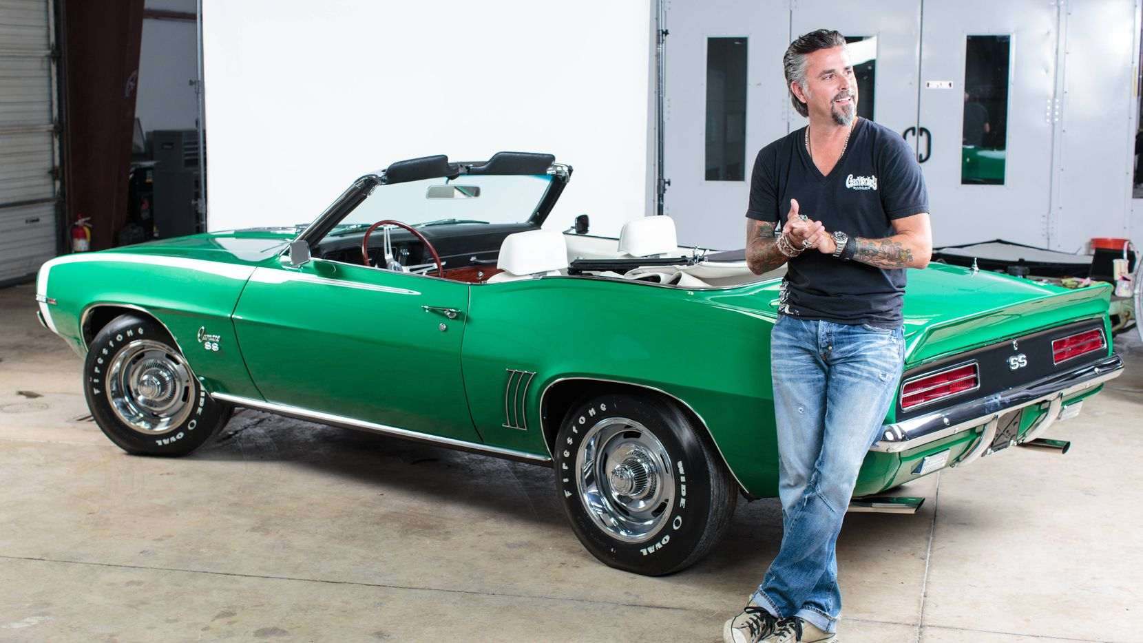 Richard Rawlings, founder of the Gas Monkey empire, which now includes Gas Monkey Garage, Gas Monkey Bar and Grill, Gas Monkey Live music venue, a dragster, branded tequila and sponsored race horse.