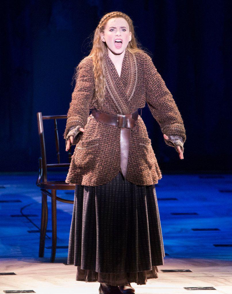 "Anya, played by Lila Coogan, sings ""In My Dreams."""