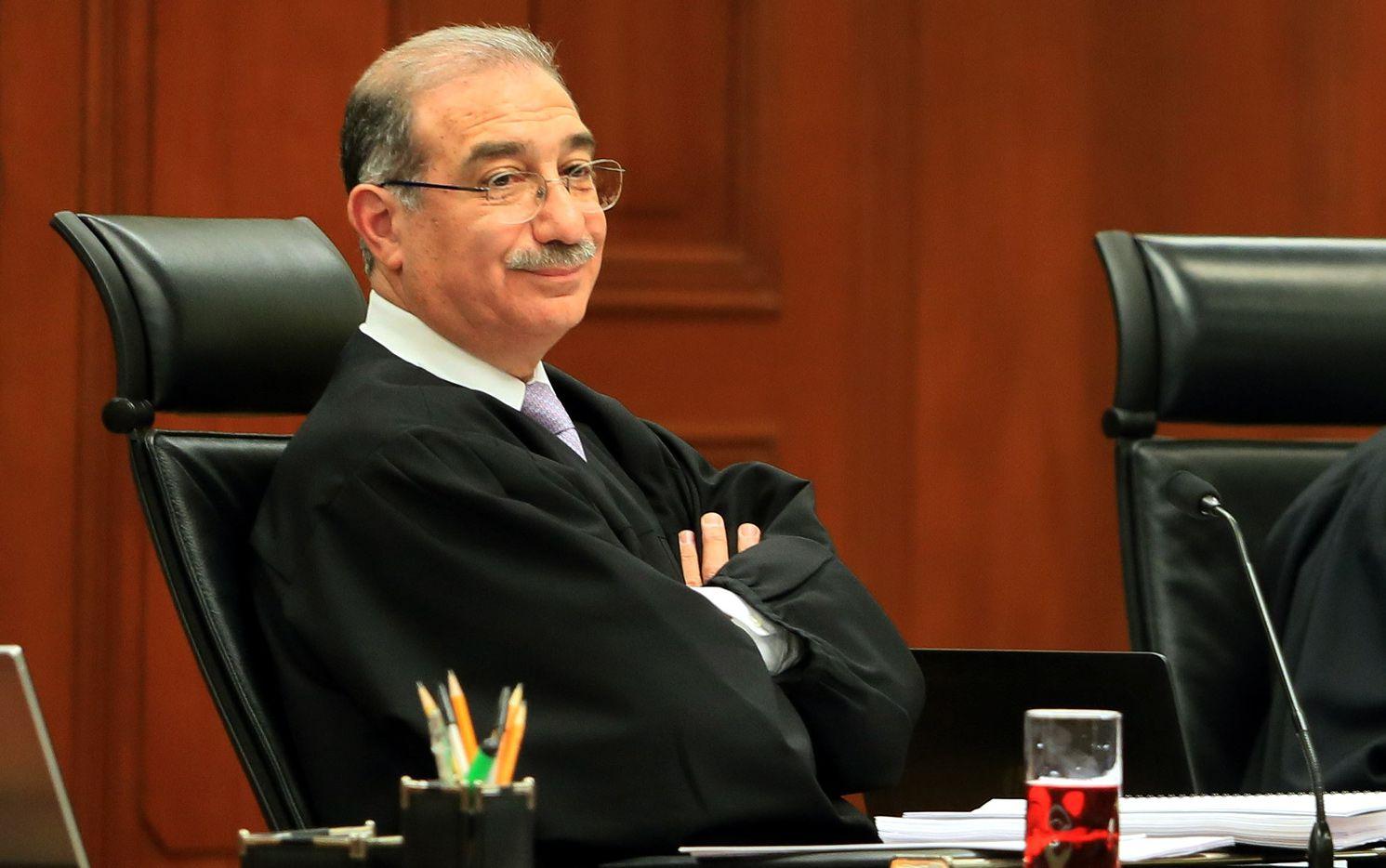 Alberto Pérez Dayán, juez de la Corte Suprema de Justicia de México. AGENCIA REFORMA