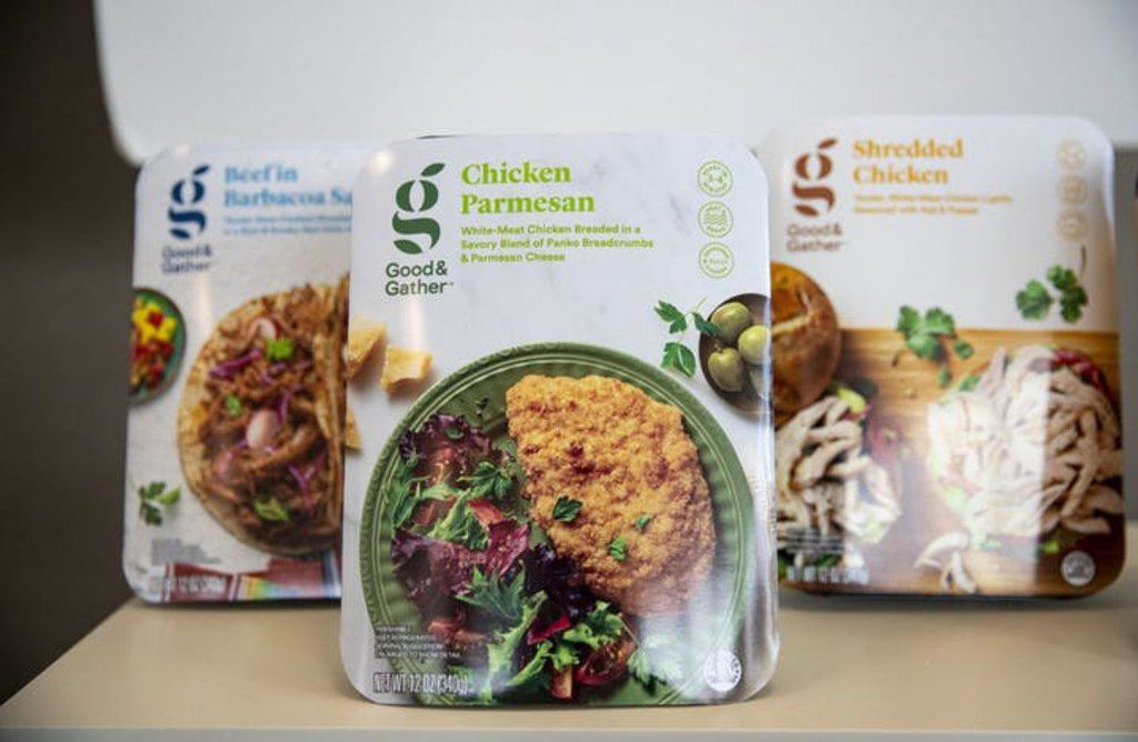 Target is rolling out a new internal brand called Good & Gather including prepared meals like Chicken Parmesan. (Alex Kormann/Star Tribune/TNS)