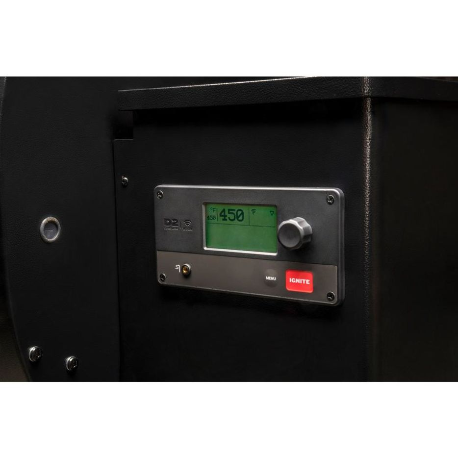 The control panel of the Traeger Pro 575.