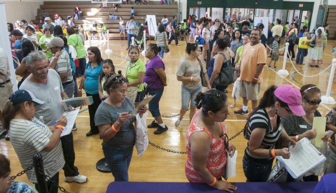 El Concilio patrocina eventos comunitarios, como esta feria de salud. (DMN/ARCHIVO)