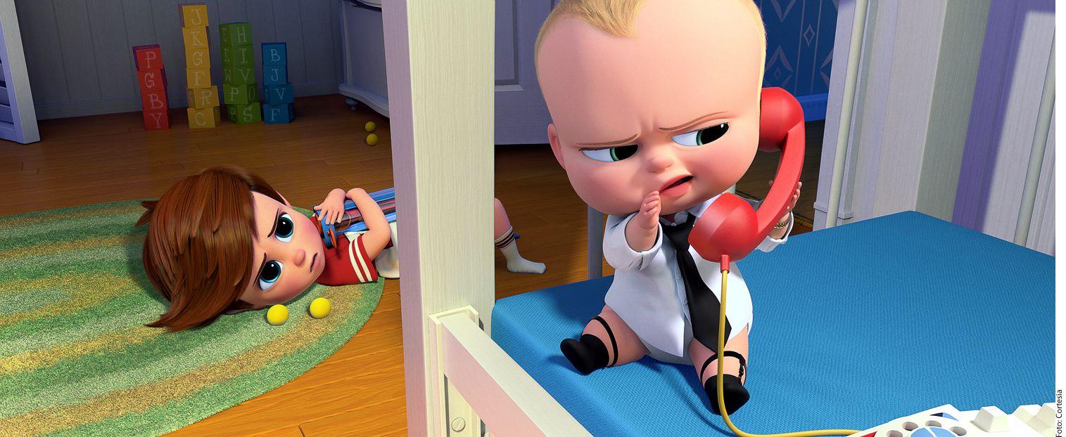 """La película """"Jefe en Pañales"""" tuvo buena recepción del público infantil el año pasado, tanto así que incluso fue nominada al Óscar a Mejor Película Animada (aunque no ganó). AGENCIA REFORMA"""
