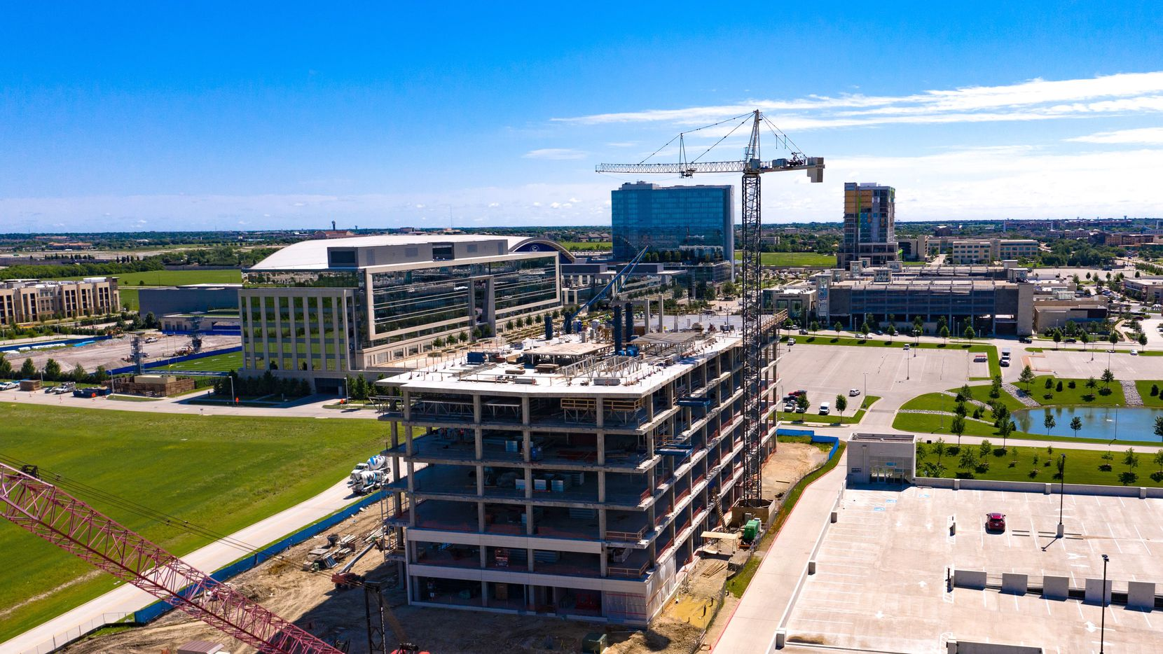 The new Frisco Station building will open in October.