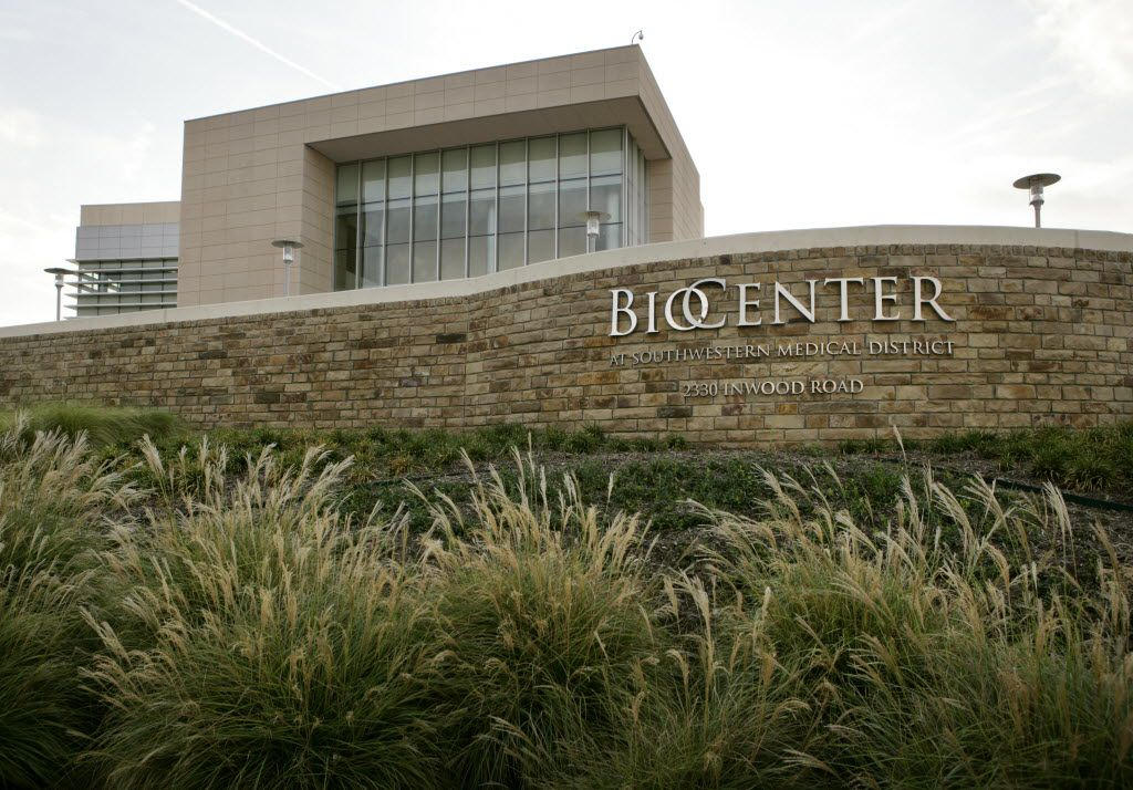 The BioCenter opened in 2009 to help commercialize UT Southwestern-developed technologies and to attract biotech firms to North Texas.. (Evans Caglage/The Dallas Morning News)