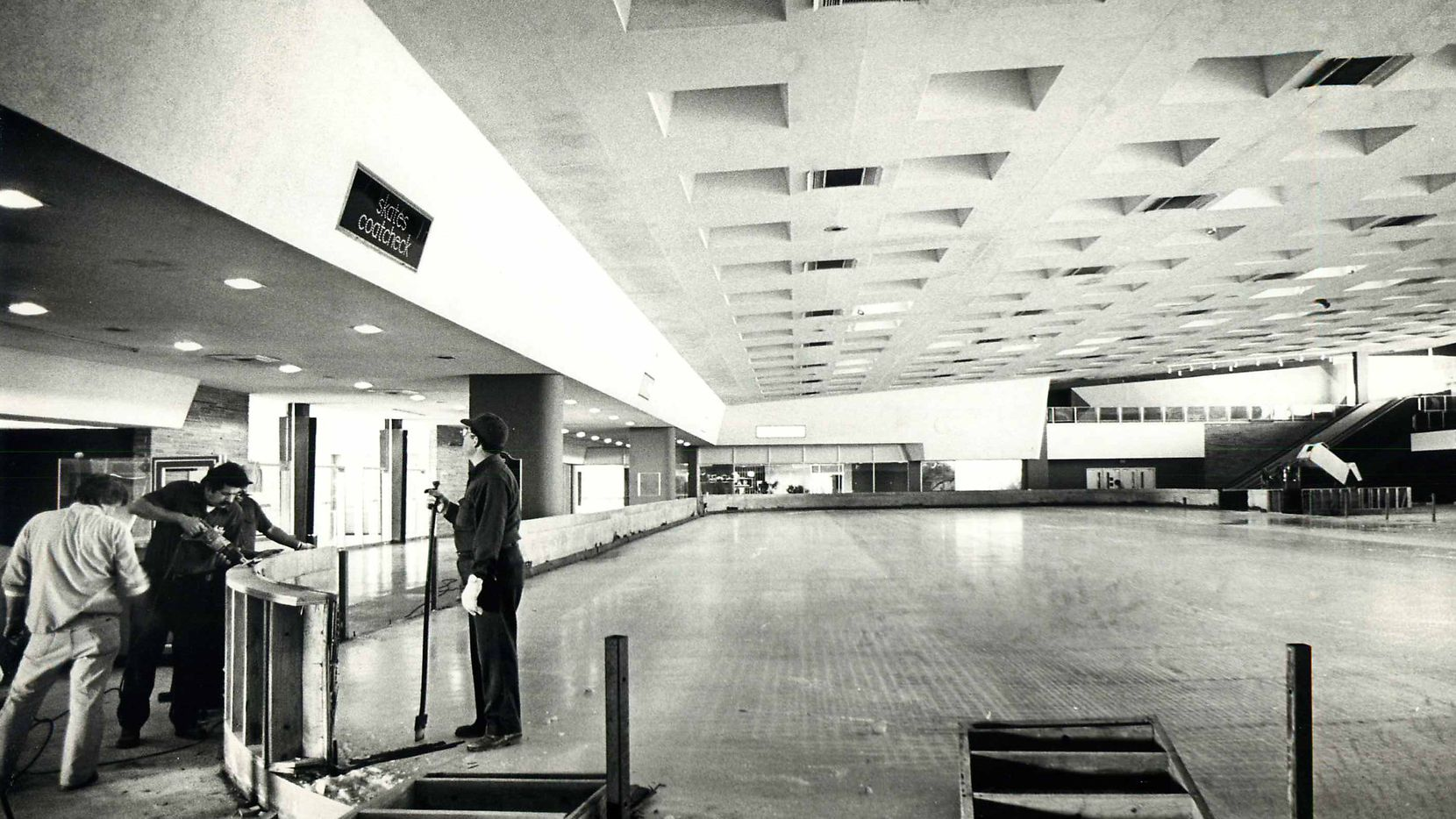 The ice skating arena at Dallas Love Field shown in a 1979 file photo