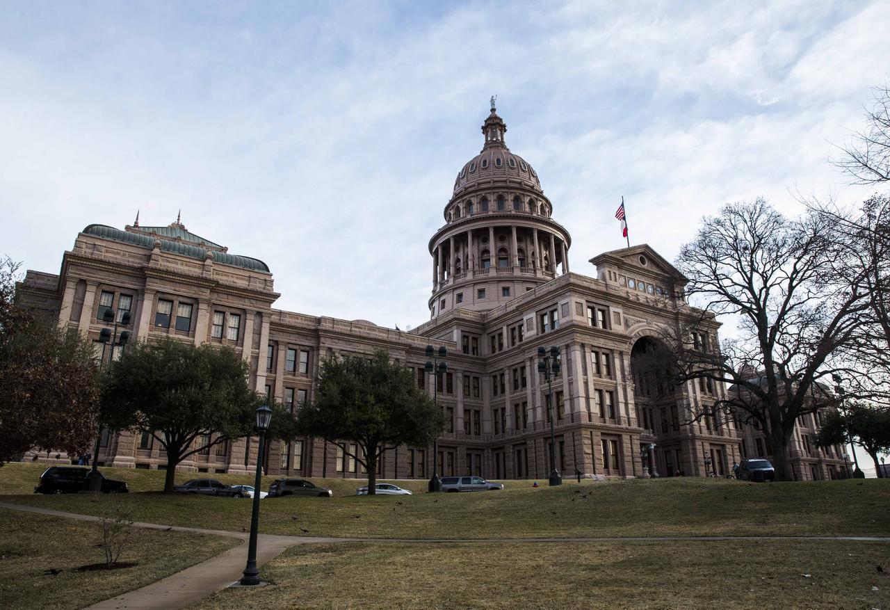 Una foto del Capitolio del Estado de Texas, en Austin, el viernes 10 de enero del 2017. (DMN/ASHLEY LANDIS)