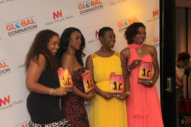 """Fans and co-authors gathered Saturday at Le Meridien Dallas Galleria for a launch event for the book """"Shift."""""""