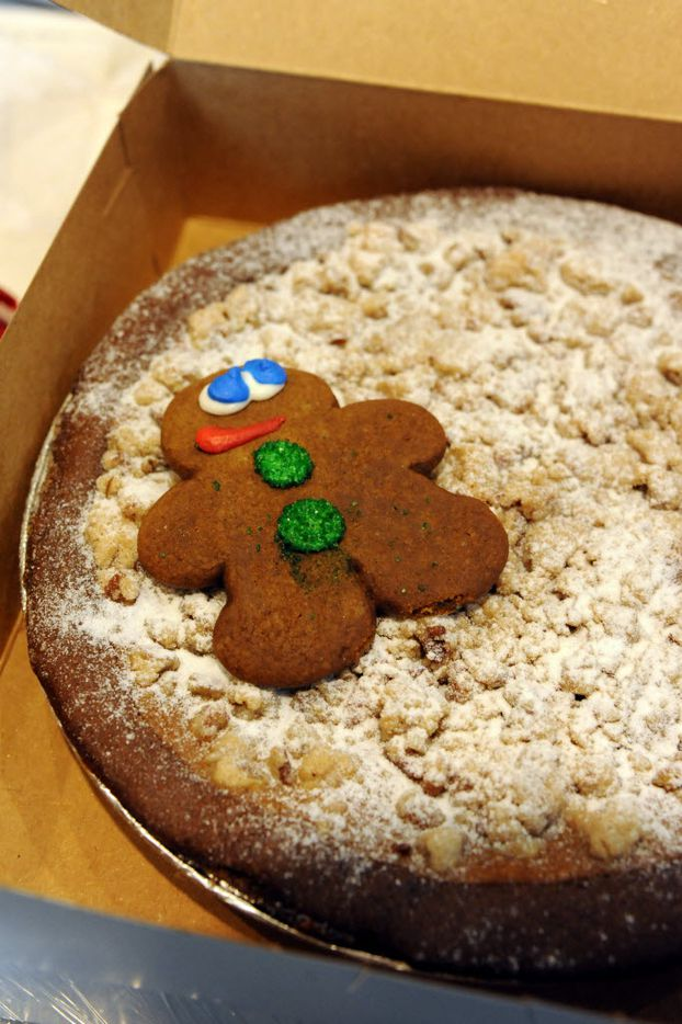 Ginger bread pumpkin pie is sold at the NorthPark Center bake sale befitting the North Texas Food Bank in Dallas, TX on December 19, 2015. (Alexandra Olivia/ Special Contributor)