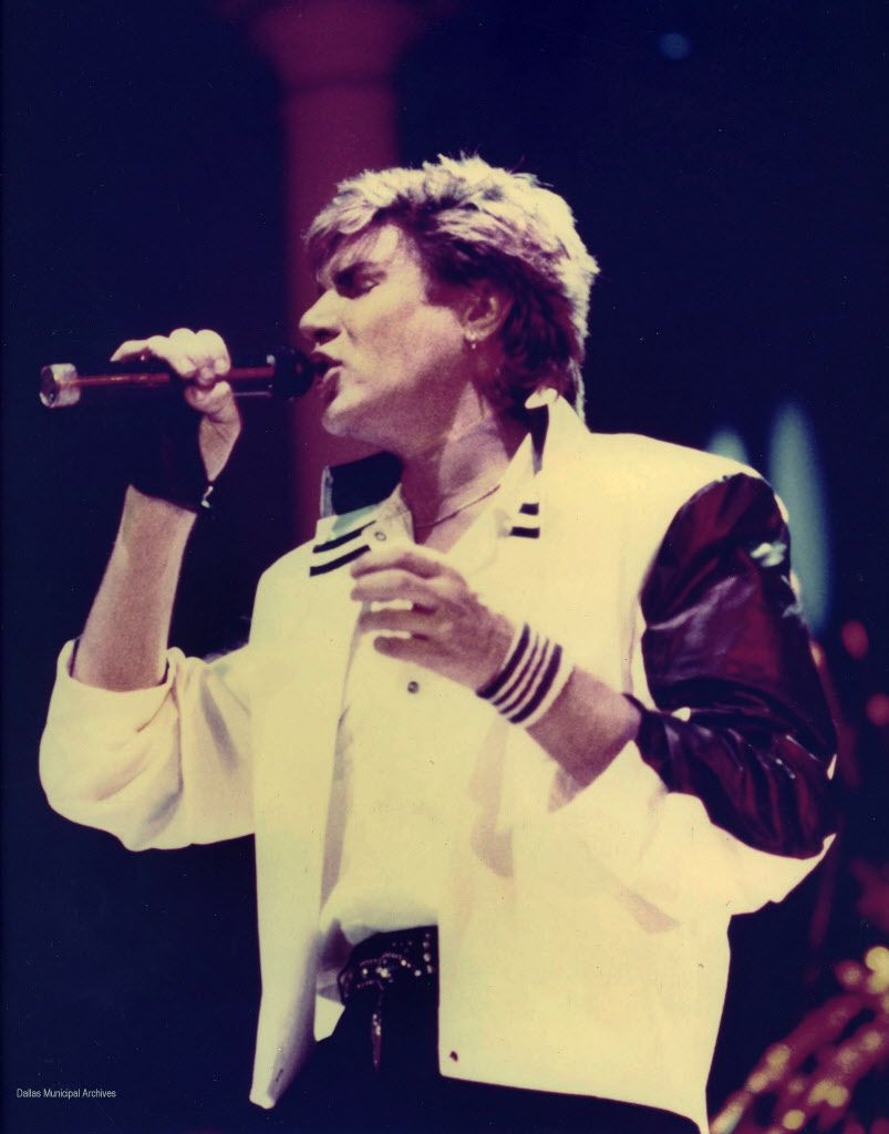 Simon Le Bon, of Duran Duran, February 11, 1984