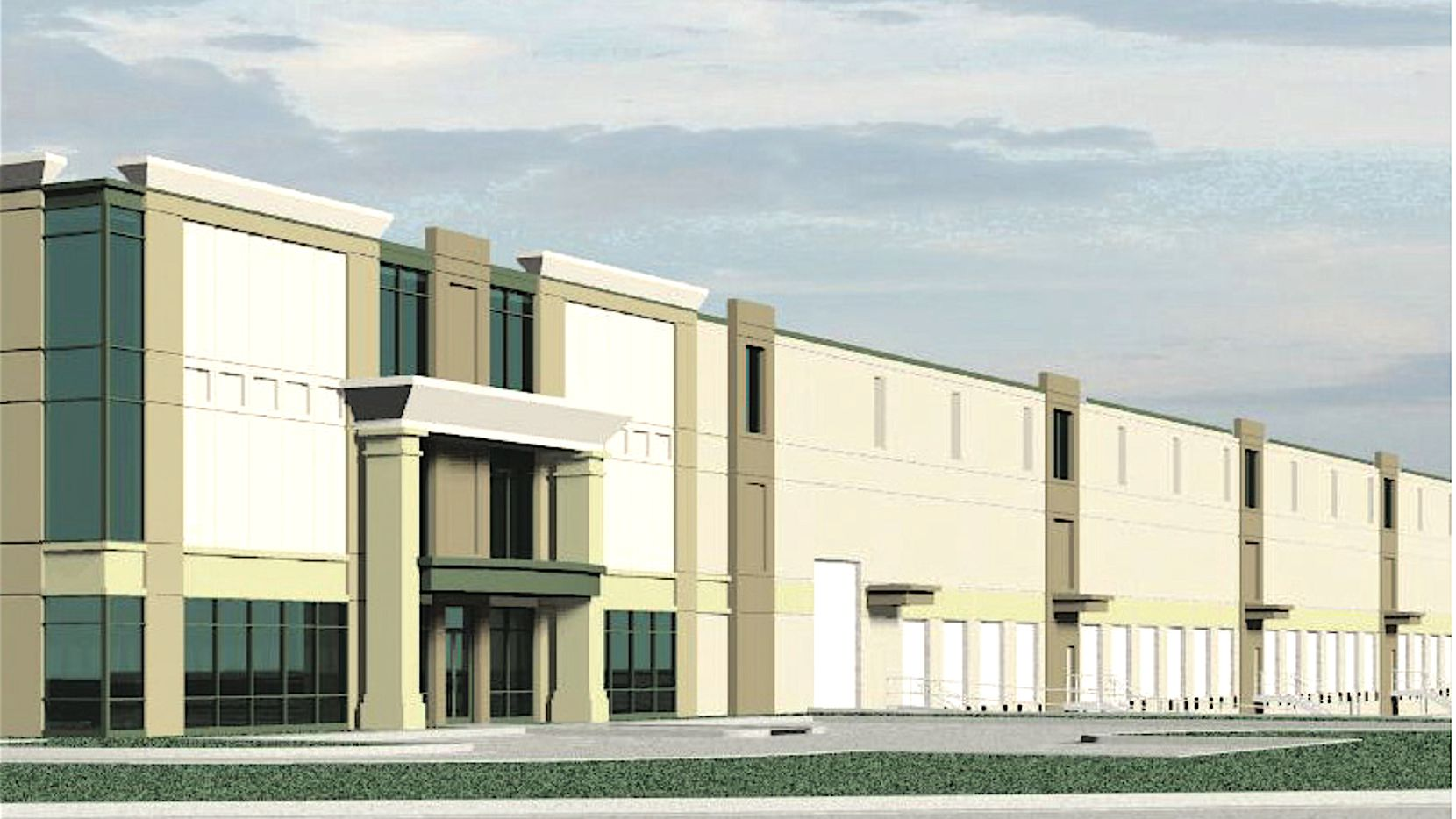 IDI Logistics' Interstate Commerce Center building is planned on Interstate 20.