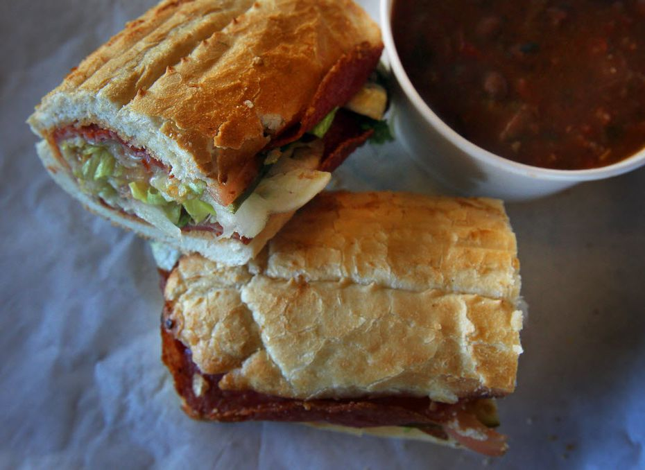 Potbelly will sell five sandwiches from its food truck, including the Italian.