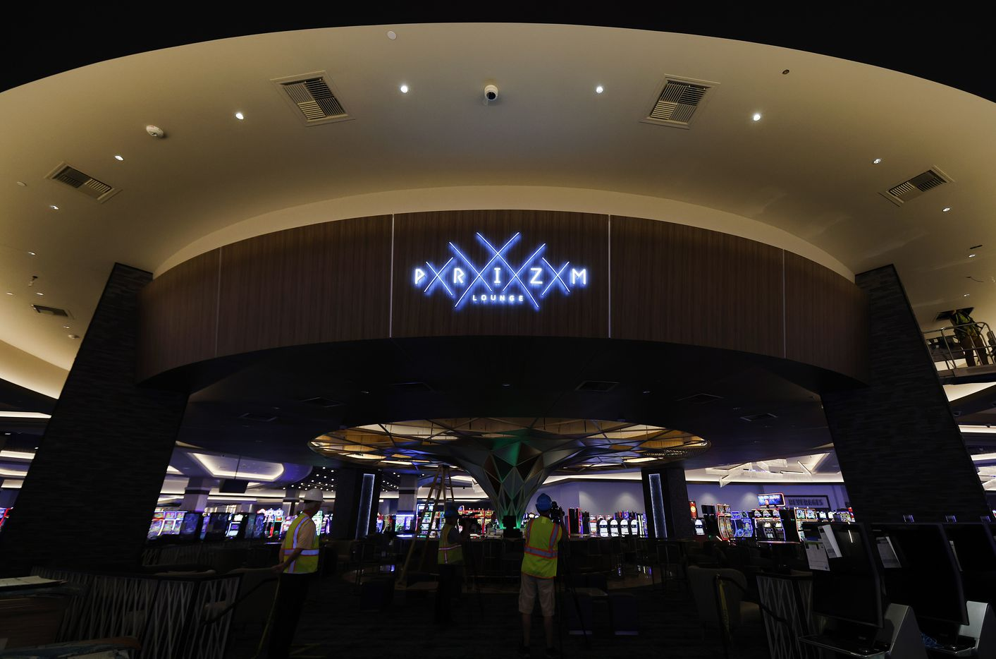 The Prizm Lounge is the hub of the casino floor.