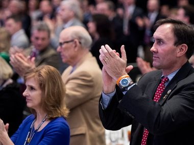 Rep. Pete Olson, R-Sugar Land, announced Thursday that he would not seek re-election.