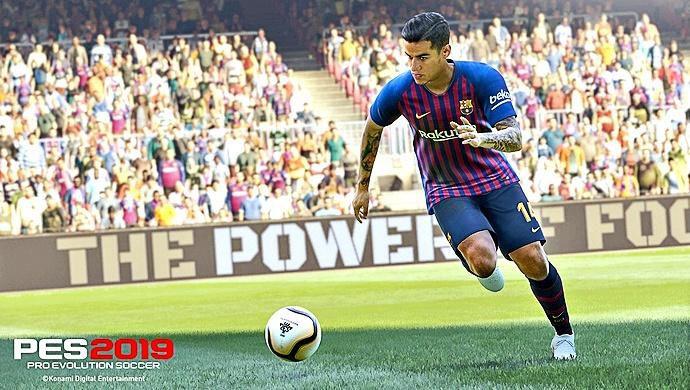 PES 2019 incorporA la acción de varias ligas de futbol profesional.(CORTESIA)