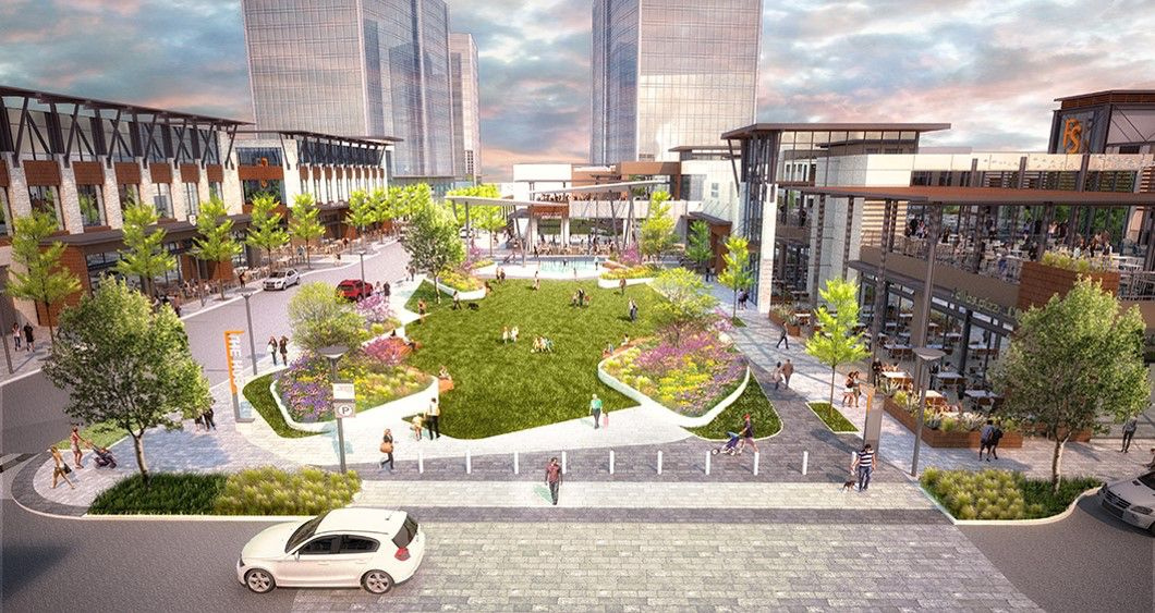 The Alamo Drafthouse will be located in the Hub restaurant and retail complex at Frisco Station.