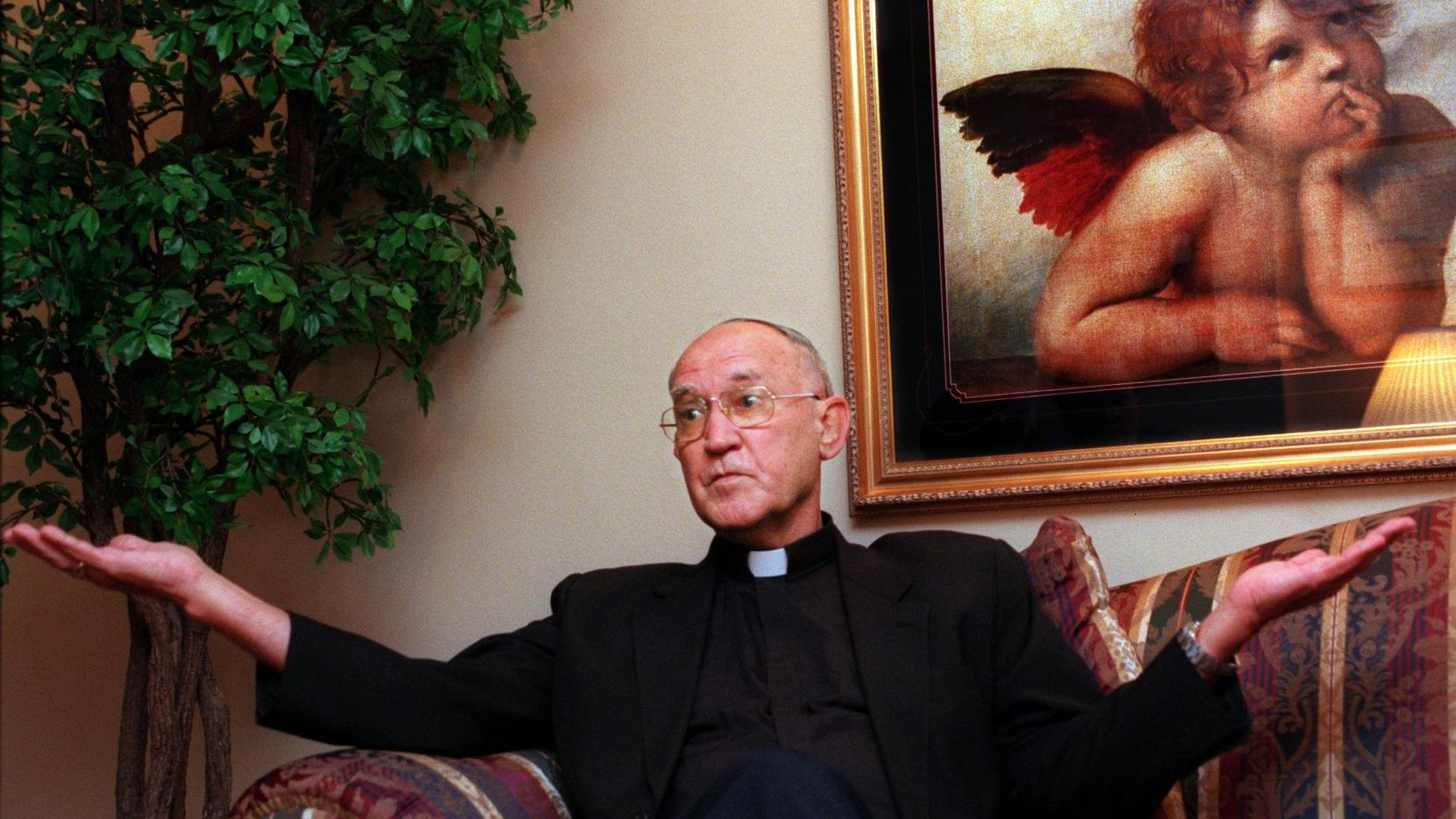 Bishop Charles Grahmann left a legacy in Dallas marked both by spectacular growth and spectacularly embarrassing scandal.