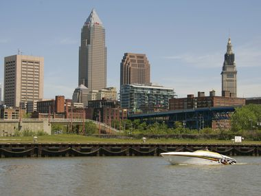 Sherwin-Williams is based in downtown Cleveland and has been tied to the city since the 1800s.