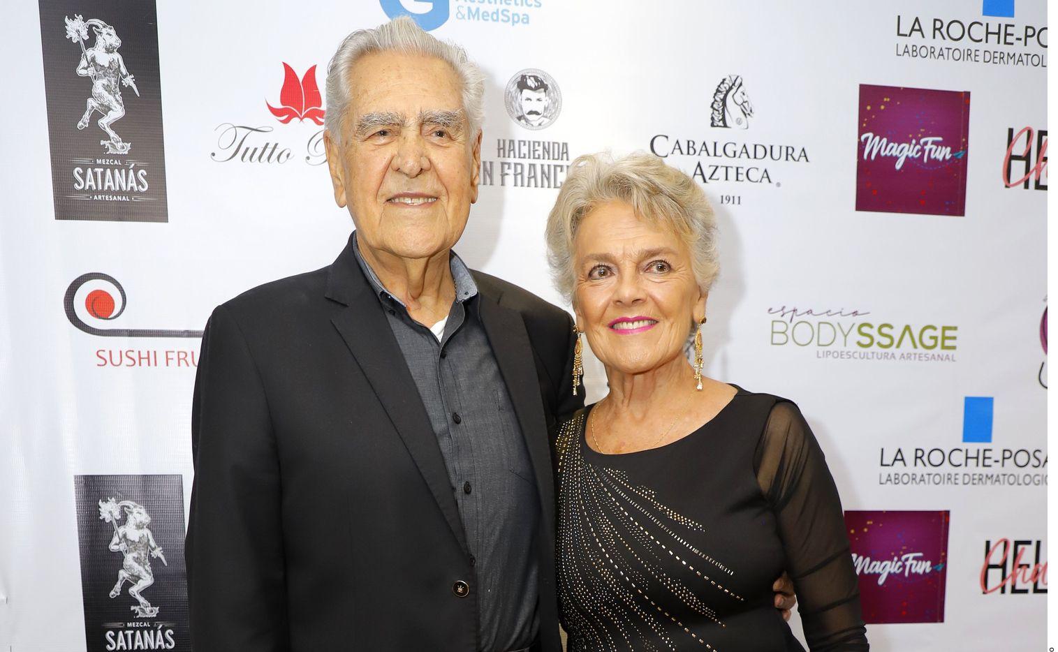 Eric del Castillo fue llevado a urgencias de un hospital de la CDMX porque sufrió una caída, de acuerdo con su hija Verónica.