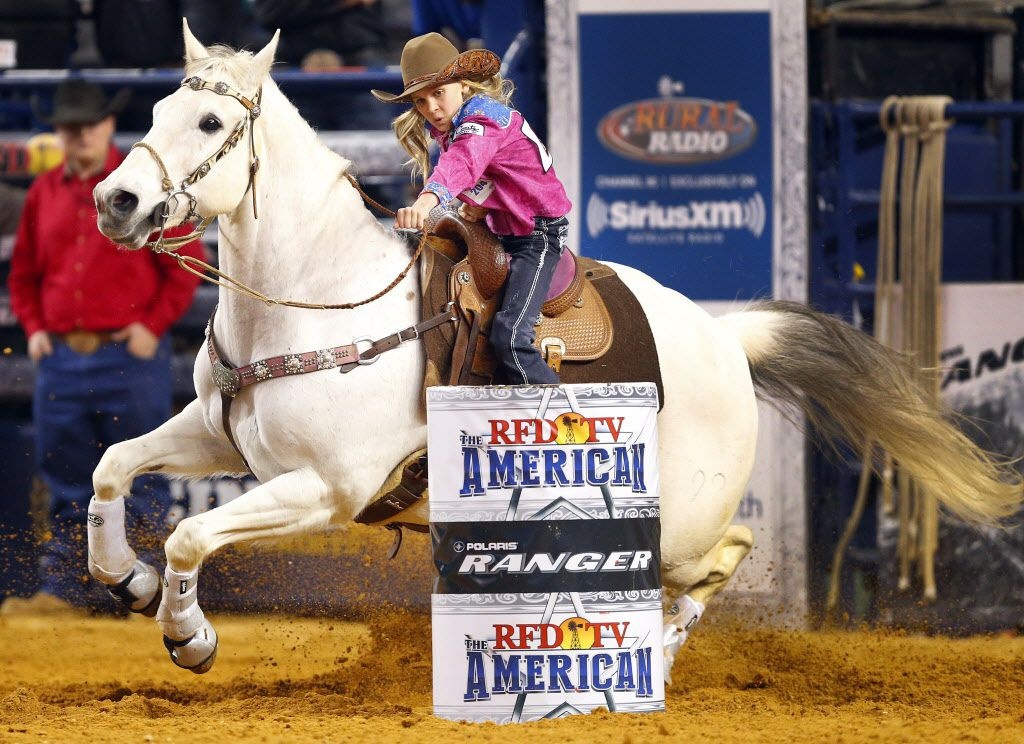 9 Year Old Racing Prodigy 8 Second Bull Ride At Rfd Tv