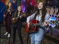 The Kassab sisters — 19-year-old Kelsey, 17-year-old Kristen and 21-year-old Kaylen — have been performing as the K3 Sisters Band for more than a decade.