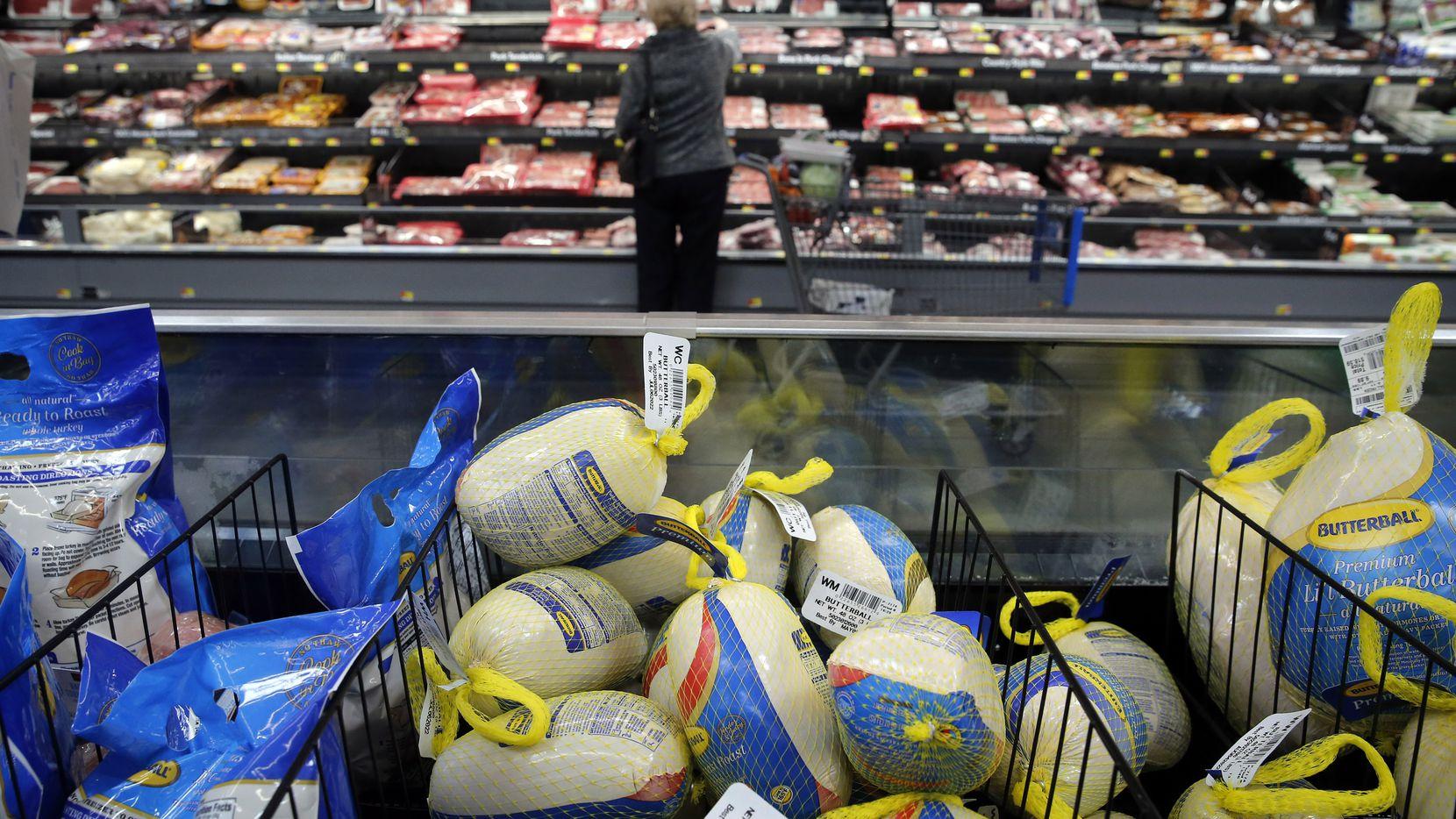 Familias podrán recibir un reembolso en sus compras de productos para la cena de Thanksgiving.