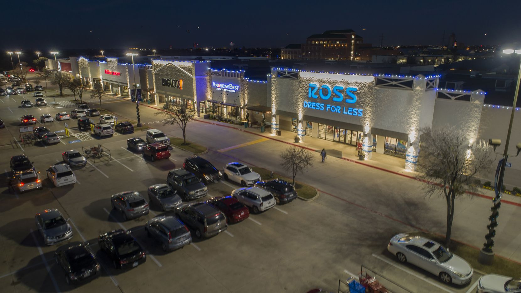Redwing Shoes leased retail space in the Grapevine Town Center in Grapevine.