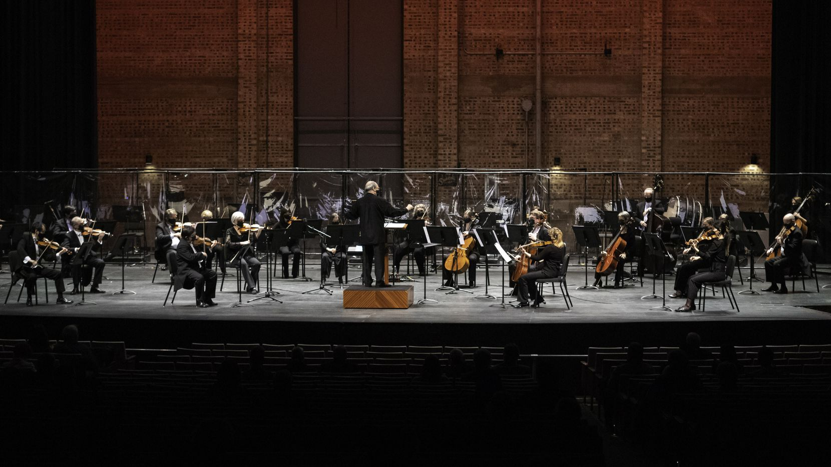 Principal guest conductor Robert Spano leads the Fort Worth Symphony Orchestra at the Will Rogers Memorial Auditorium in Fort Worth on Jan. 8.