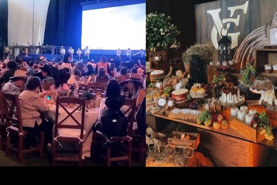 Imágenes de la fiesta de Vicente Fernández