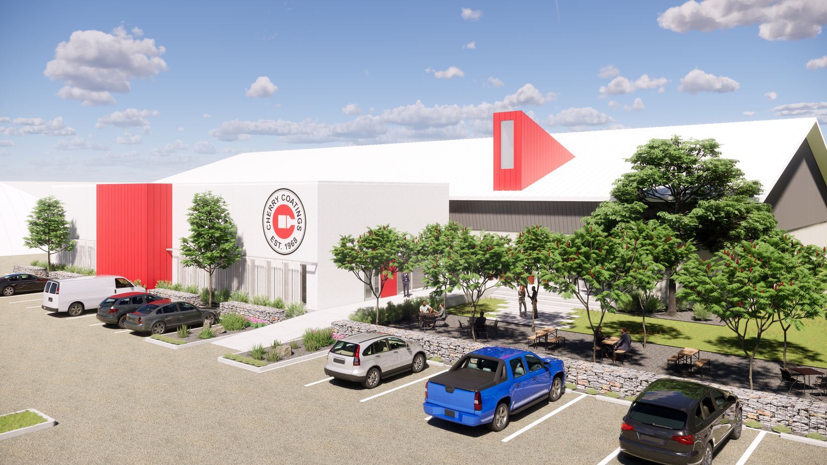 The 3-acre former Inwood Soccer Center on Inwood Road will house the operations of Cherry Coatings.