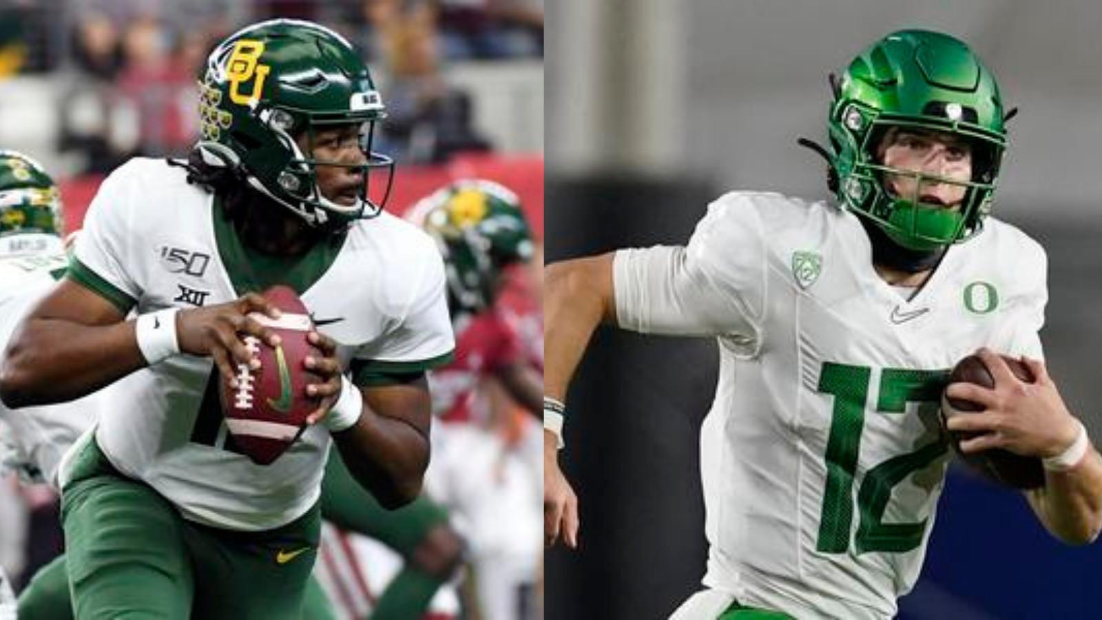 Baylor quarterback and Texas Tech quarterback Tyler Shough.