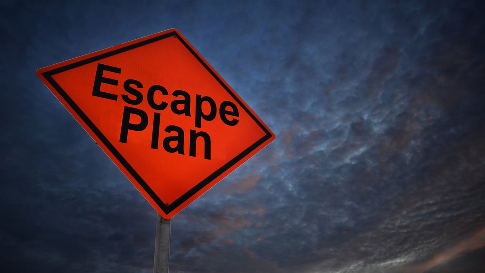 Your first instinct might be to panic, so having an evacuation plan in place and practicing it regularly will help ensure you and your family are ready to go at a moment's notice.