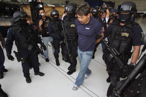 The 2009 arrest of Arnoldo Rueda-Medina.