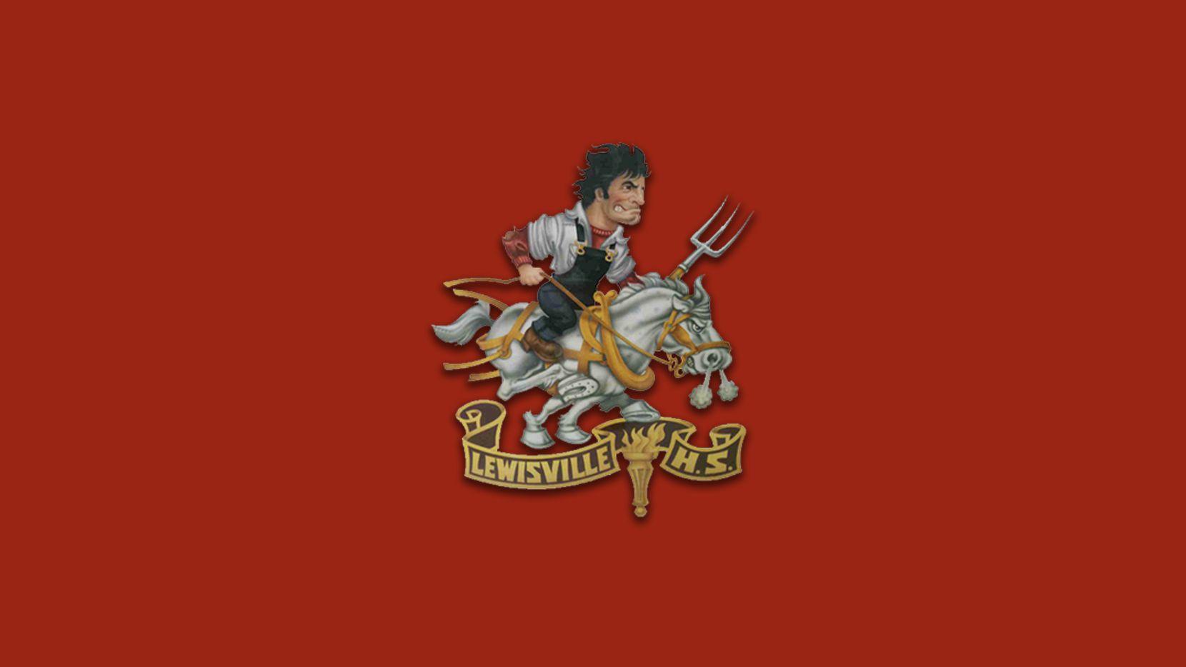Lewisville logo.