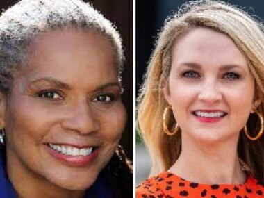 Deborah Peoples (left) and Mattie Parker are in a June 5 runoff to be the next mayor of Fort Worth.