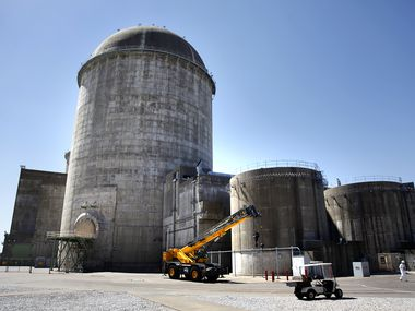 The Unit 2 reactor at Comanche Peak Nuclear Power Plant near Glen Rose.