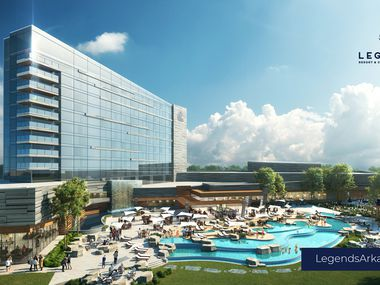 The Legends Resort & Casino Arkansas is trying to win the last of four casino licenses being awarded.