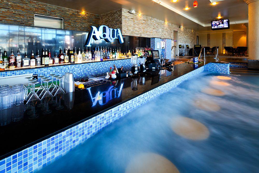 Spa Castle's swim up bar