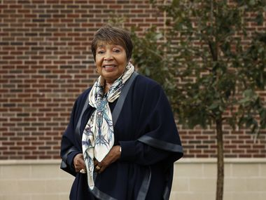 """Rep. Eddie Bernice Johnson, D-Dallas, expressed optimism about the COVID-19 vaccines. """"I do believe that we have reached a point where we can see some light at the end of the tunnel,"""" she said. (Vernon Bryant/The Dallas Morning News)"""